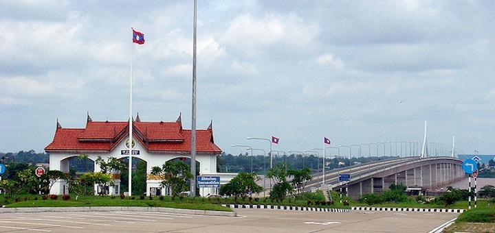 Punti di confine Thailandia Laos