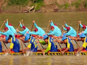 laos corsa delle barche 2 tuttolaos