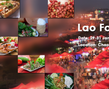 Lao Food Festival 2015 a Vientiane