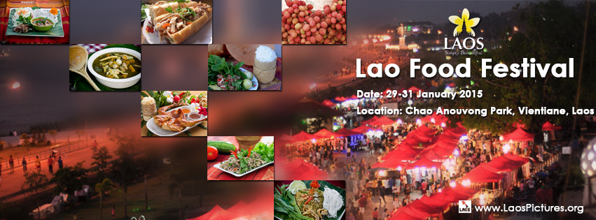Lao Food Festival 2015 a Vientiane