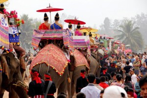 festival elefanti laos 3 tuttolaos