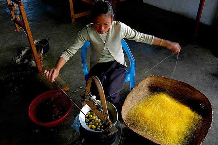 Il Laos e la seta, una tradizione riscoperta
