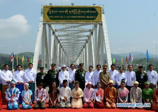 Aperto il primo Ponte dell'Amicizia tra Laos e Birmania