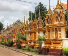 Savannakhet, il centro del Laos.
