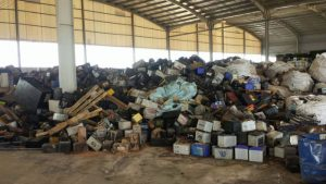 laos gestione dello smaltimento dei rifiuti
