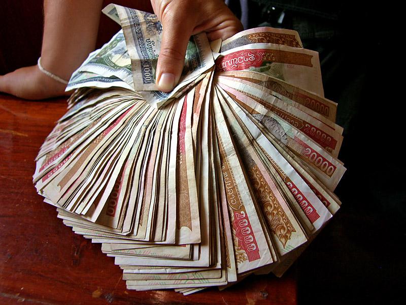 La valuta: il Kip