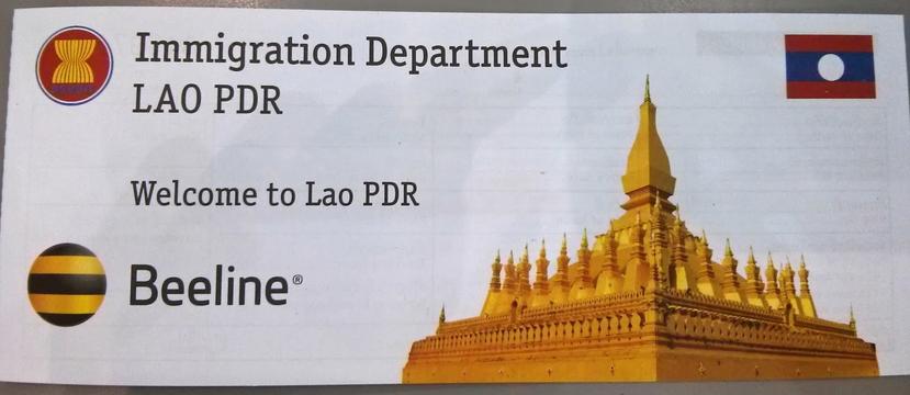 Estendere il visto laotiano
