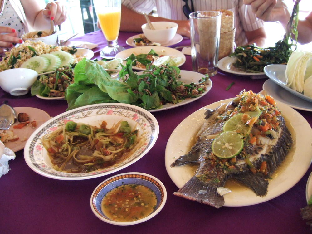 Laos e cibo