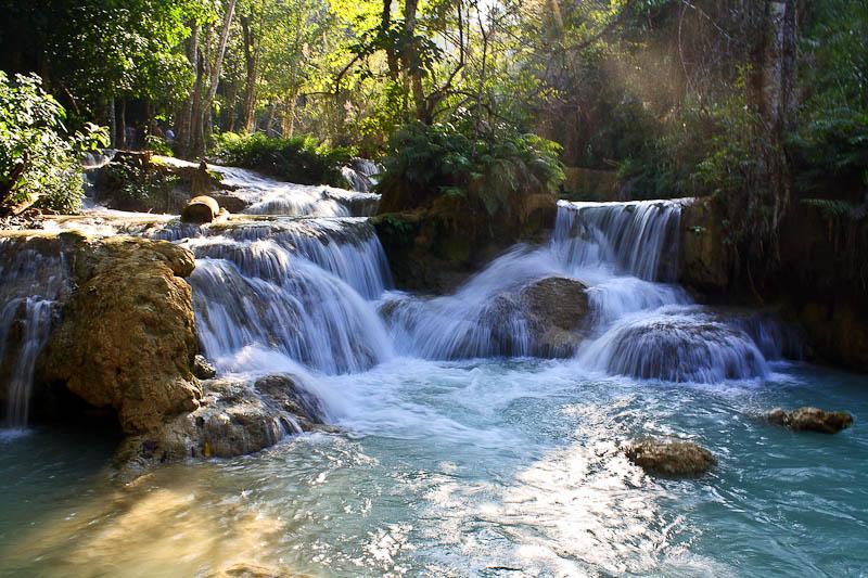 Le cascate di Kuang Si