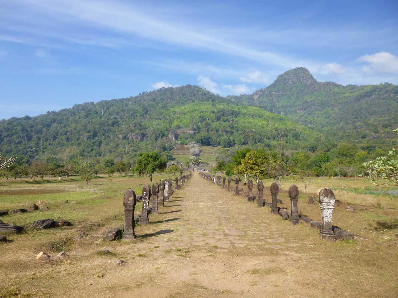 Un tempio khmer in Laos: Champasak